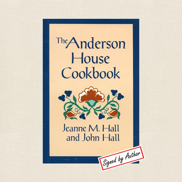 Anderson House Cookbook Hotel Wabasha, Minnesota