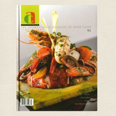 Art Culinaire Magazine No. 93 Cookbook