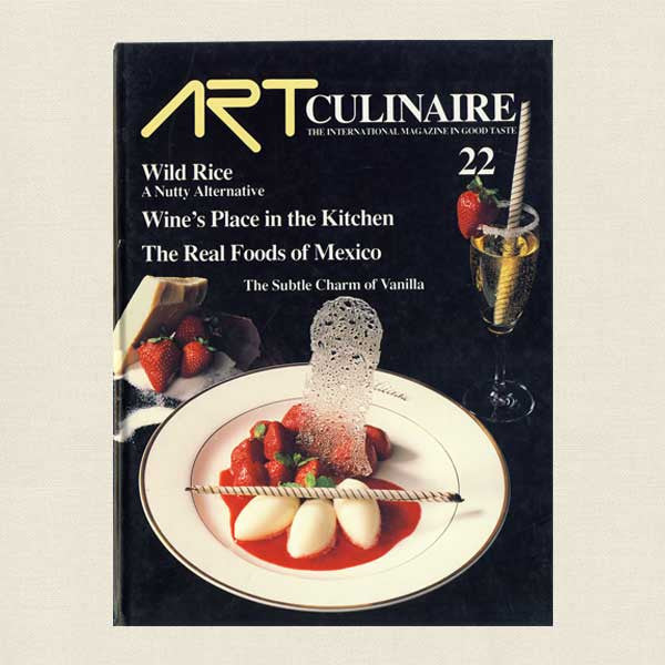 Art Culinaire Magazine 22 Cookbook