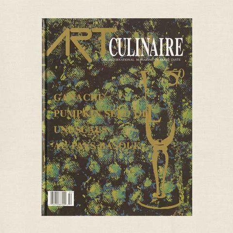 Art Culinaire Magazine No. 50 Cookbook
