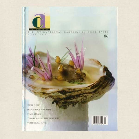 Art Culinaire Magazine No. 86 Cookbook