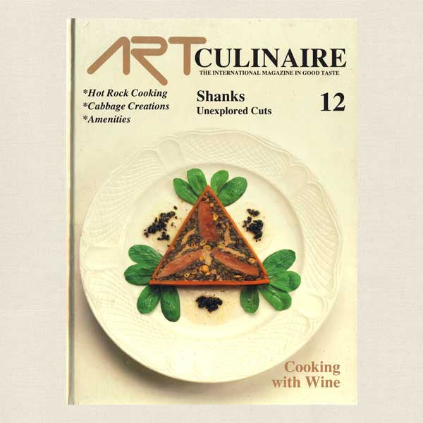 Art Culinaire Magazine 12 Cookbook