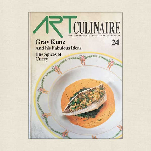 Art Culinaire Magazine No. 24 Cookbook