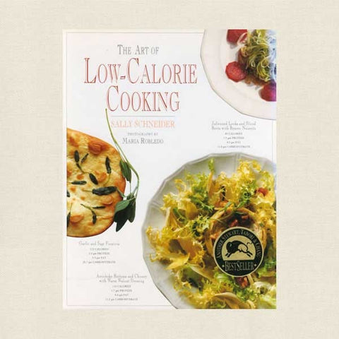 The Art of Low Calorie Cooking Cookbook