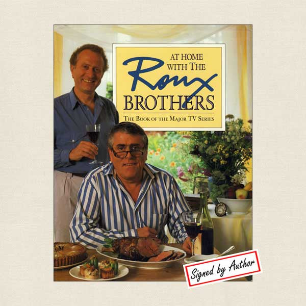 At Home with the Roux Brothers Signed Edition