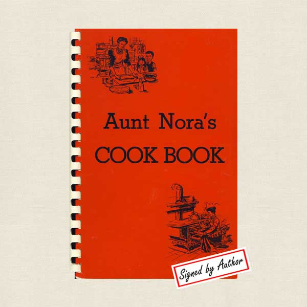 Madden Lodge Restaurant Minnesota - Aunt Nora's Cookbook Signed