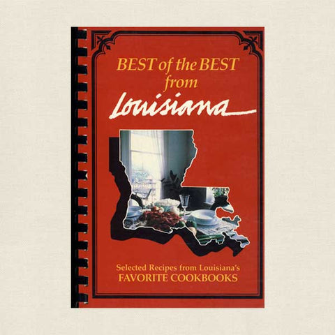 Best of the Best from Louisiana Cookbook