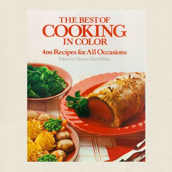 Best of Cooking in Color Cookbook