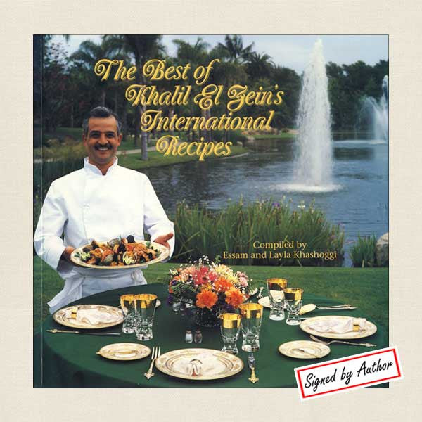 Best of Khalil El Zein's International Recipes Signed Cookbook