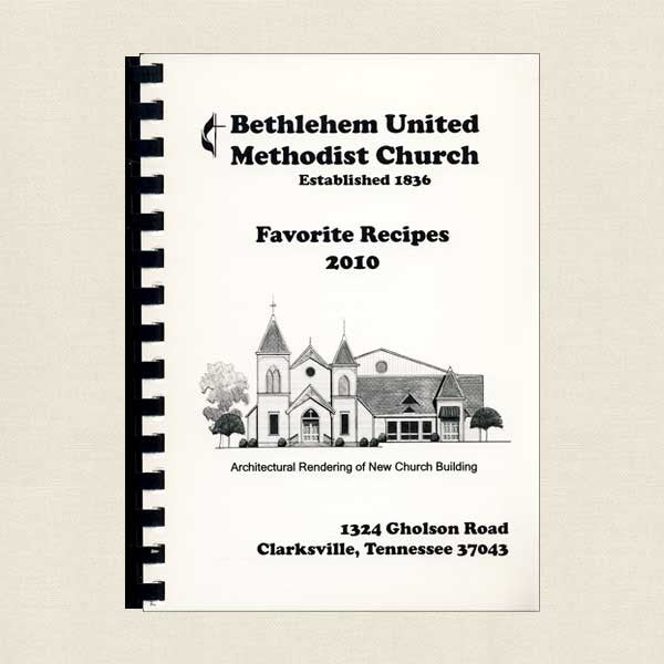 Bethlehem United Methodist Church Favorite Recipes: Clarksville Tennessee
