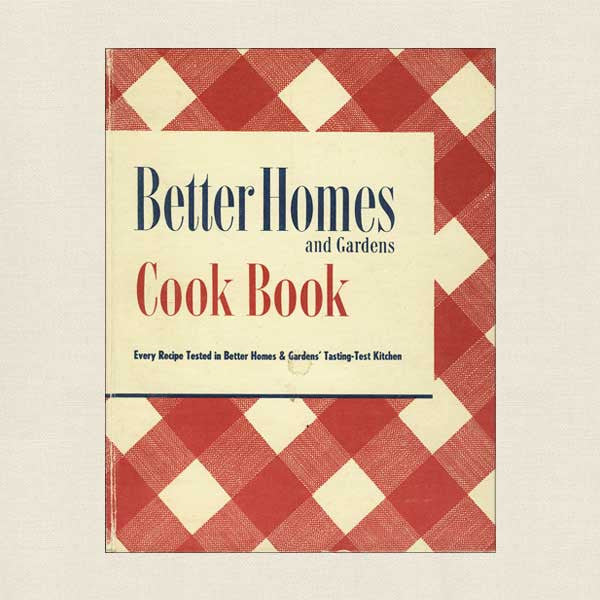 Better Homes and Gardens Vintage Cookbook - 1951