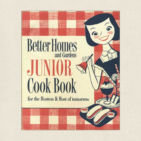 Better Homes and Gardens Junior Cookbook - Vintage 1955