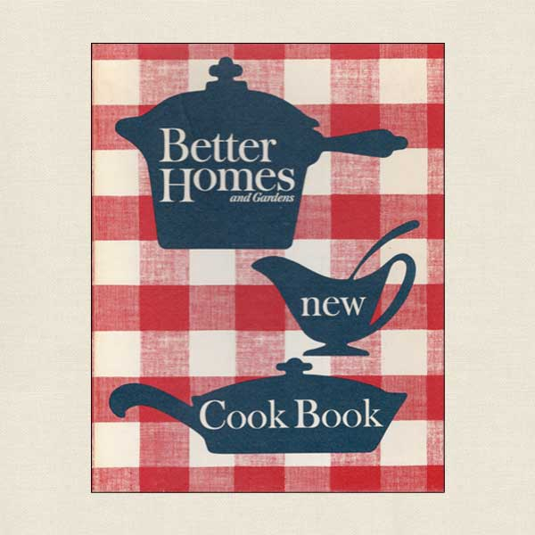 Better Homes And Gardens New Cook Book 1962 Cookbook Village