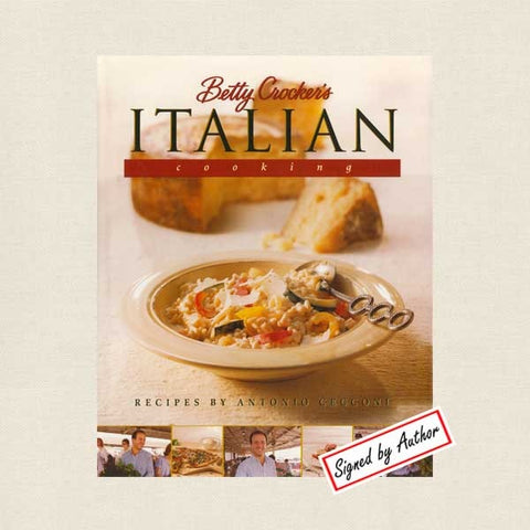 Betty Crocker Italian Cooking Cookbook - Signed