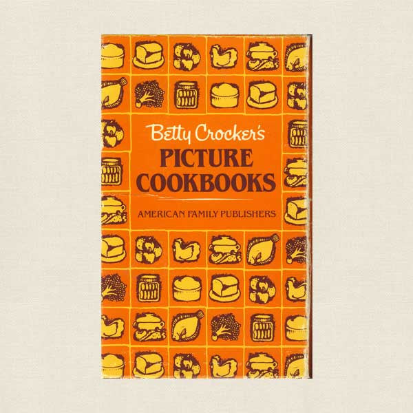 Betty Crocker Picture Cookbooks Box of 8 Booklets