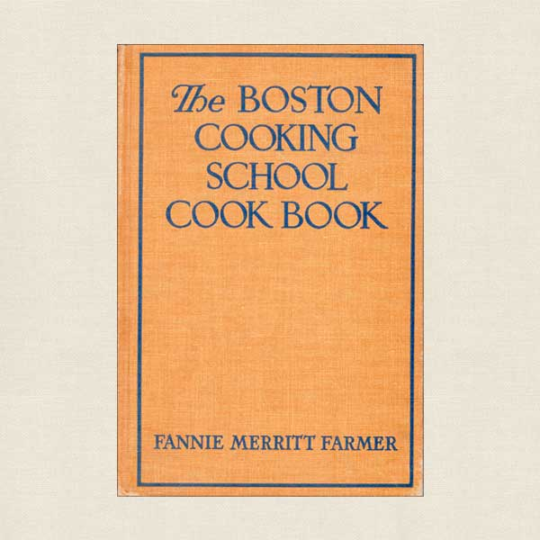 Boston Cooking School Cook Book 1943