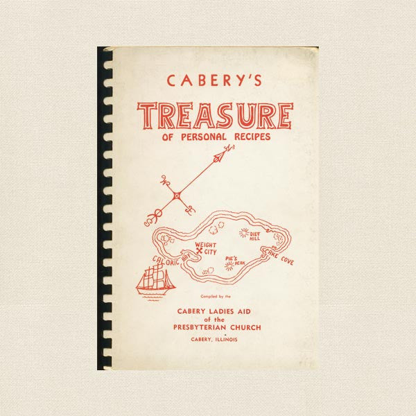 Cabery's Treasure of Personal Recipes Cookbook - Illinois