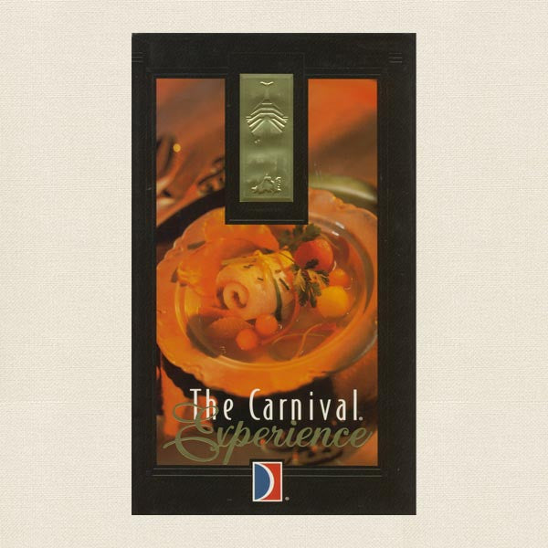 The Carnival Cruises Experience Cookbook