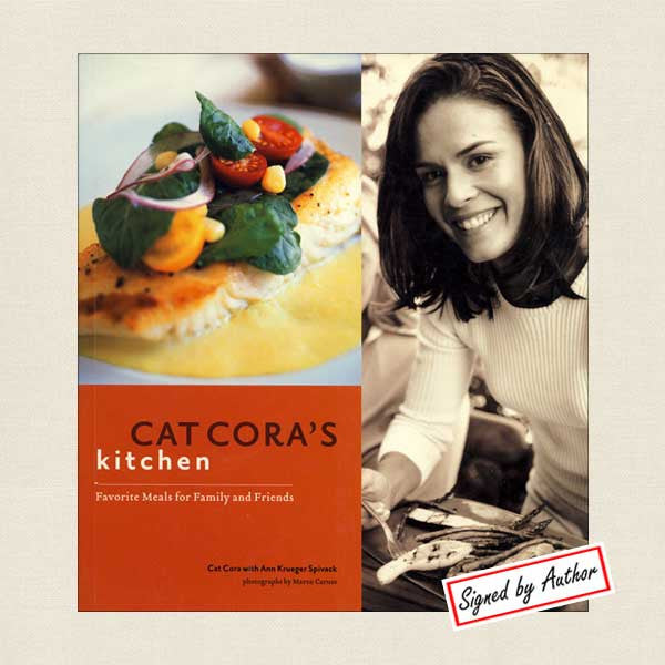 Cat Cora's Kitchen: Favorite Meals for Family and Friends SIGNED