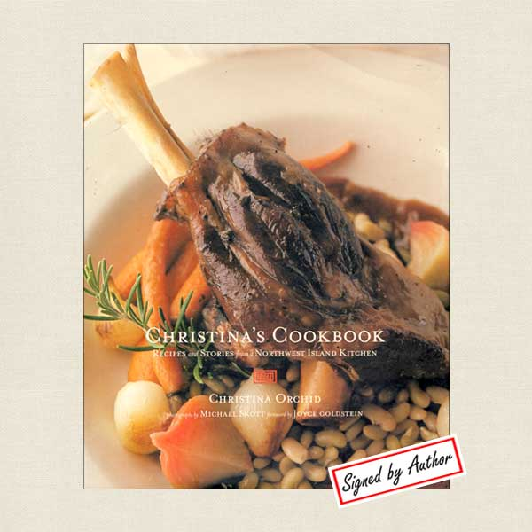 Christina's Orcas Island Cookbook - SIGNED
