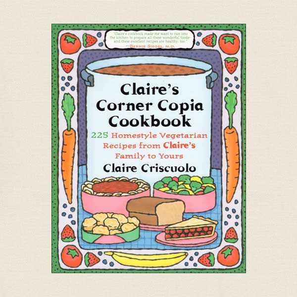 Claire's Corner Copia Cookbook - New Haven, Connecticut Restaurant