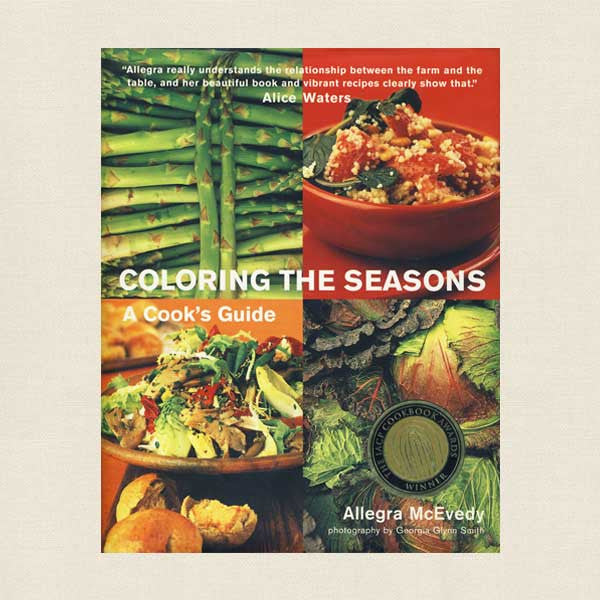Coloring the Seasons Cookbook - A Cook's Guide