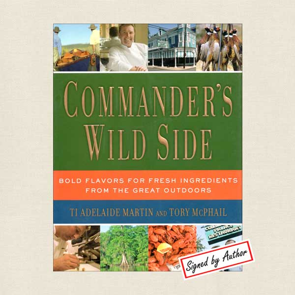 Commander's Palace Restaurant Wild Side Signed Edition