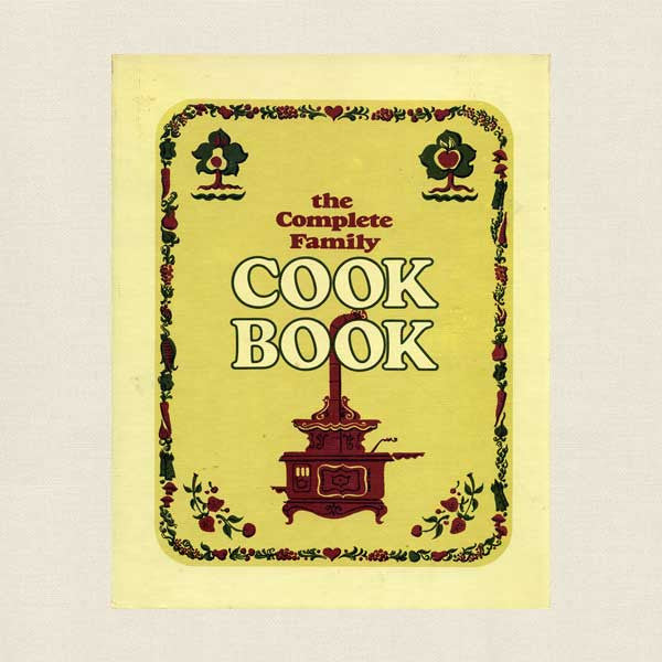 Complete Family Cook Book - Vintage 3-Ring Binder