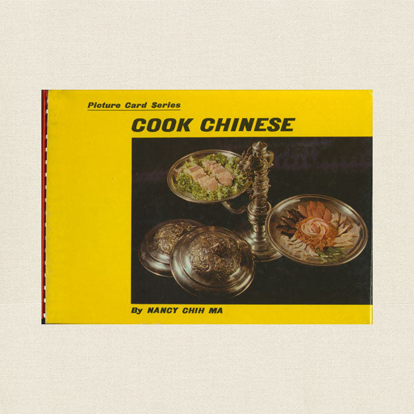 Picture Card Cook Chinese - Nancy Chih Ma Cookbook