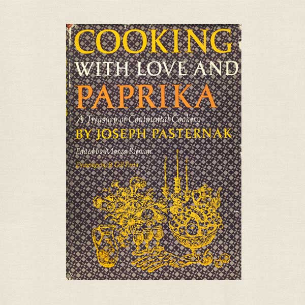 Cooking With Love and Paprika Vintage Cookbook