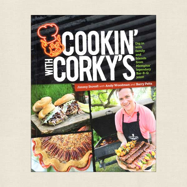 Cookin' With Corky's Barbecue Cookbook - Memphis