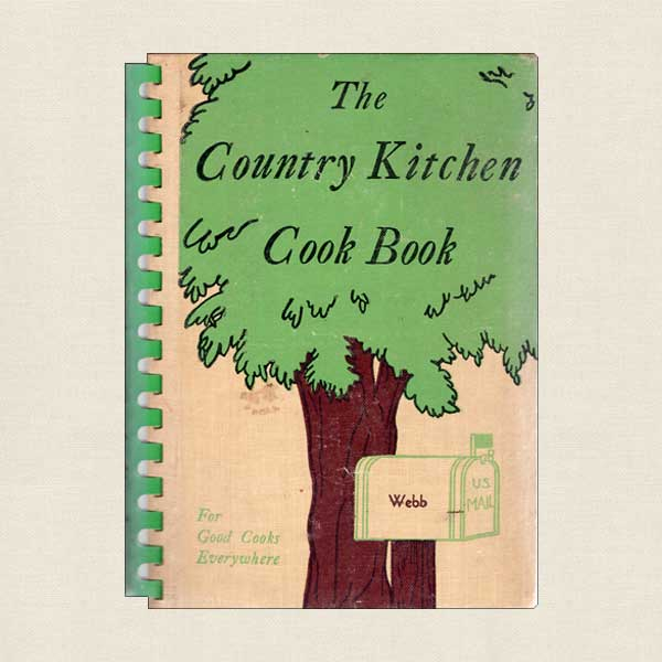 Country Kitchen Cookbook - Vintage
