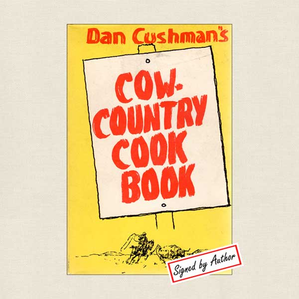 Cow-Country Cookbook - SIGNED