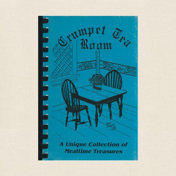 Crumpet Tea Room Cookbook - Rogers Arkansas