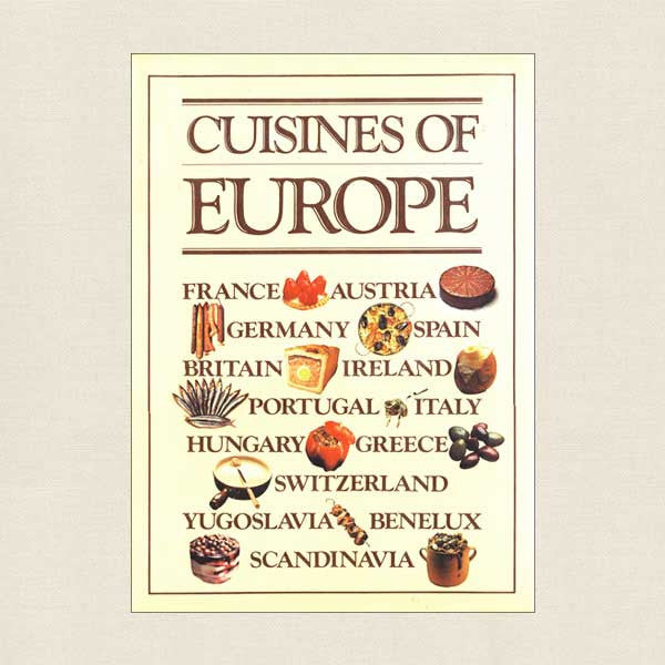 Cuisines of Europe Cookbook