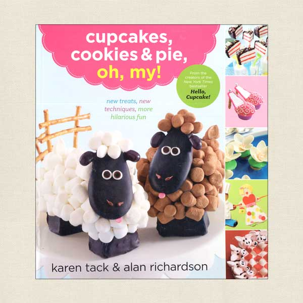 Cupcakes, Cookies & Pie, Oh, My Cookbook