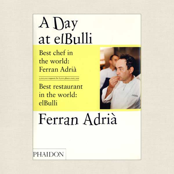 A Day at elBulli Cookbook