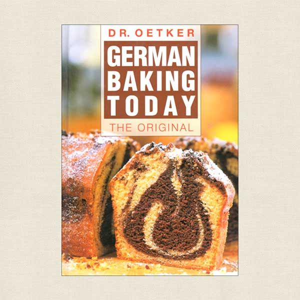 Dr. Oetker German Baking Today Cookbook