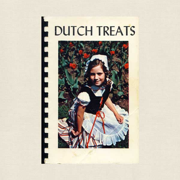 Dutch Treats Pella Cookbook 1959 - Women's Auxilary Central College