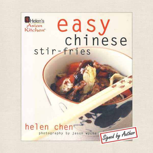 Helen's Asian Kitchen Easy Chinese Stir-Fries Cookbook - Signed