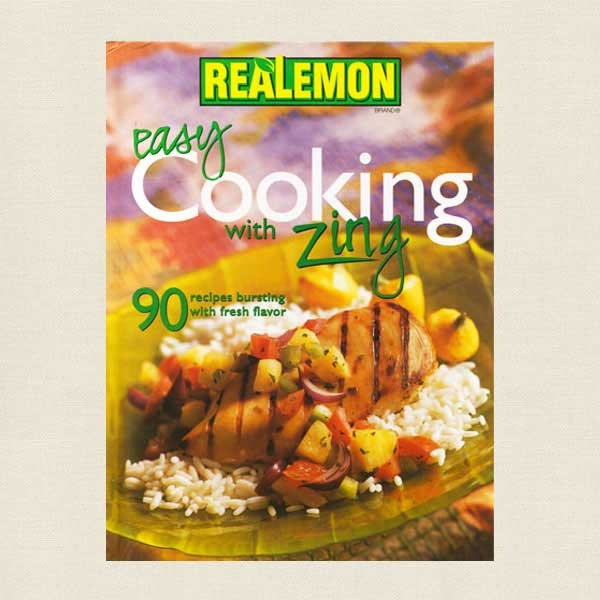 Easy Cooking with Zing Cookbook - ReaLemon