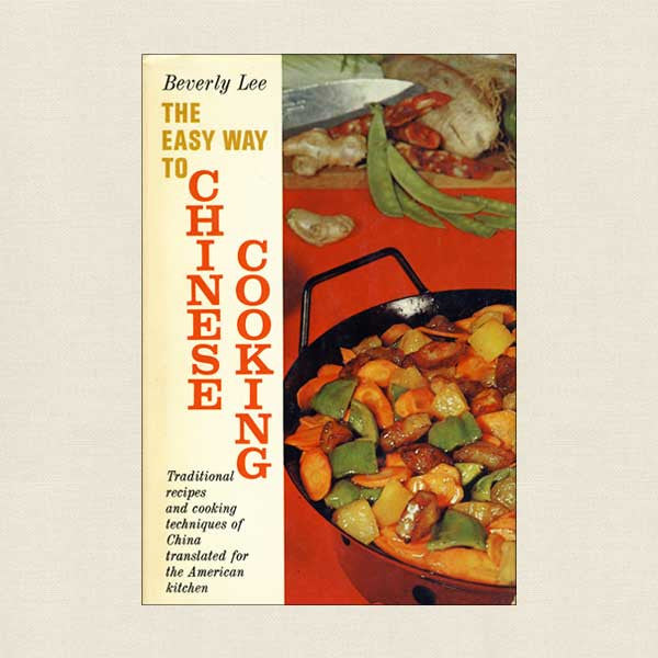 Easy Way To Chinese Cooking Vintage Cookbook