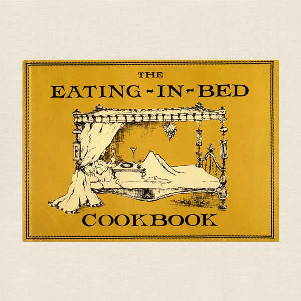 Eating-In-Bed Cookbook - Vintage 1962