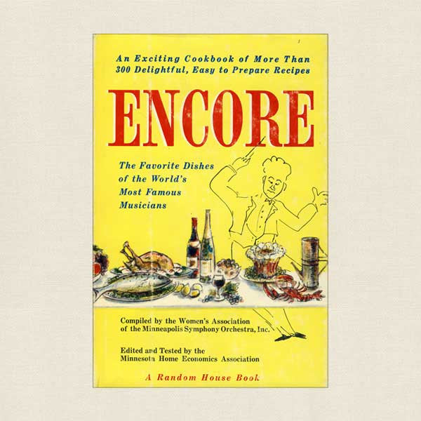 Encore Cookbook - Minneapolis Symphony Orchestra