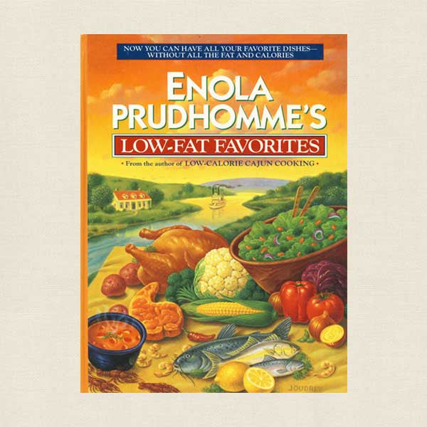 Enola Prudhomme's Low-Fat Favorites Southern Cookbook