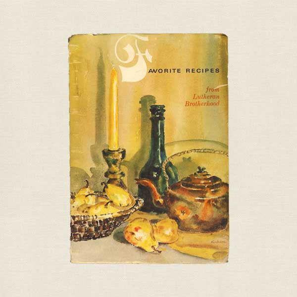 Favorite Recipes from Lutheran Brotherhood Cookbook