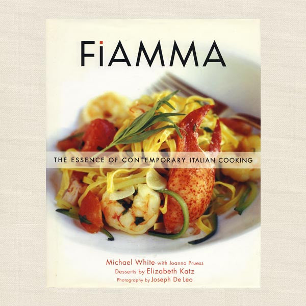Fiamma Italian Cookbook - Restaurant Las Vegas MGM Grand