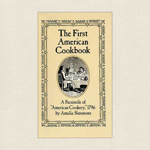 First American Cookbook 1996 - Facsimile