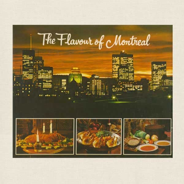 Flavour of Montreal Cookbook - Canada