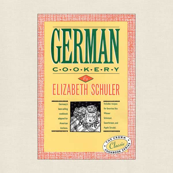 German Cookery Cookbook